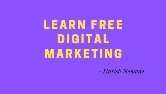 Learn Free Digital Marketing