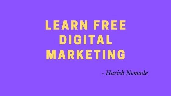 Learn Free Digital Marketing